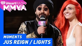 Jus Reign and Lights Introduce Arkells | 2017 iHeartRadio MMVAs