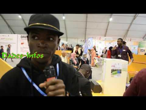 Johan Keder chante pour l'environnement au COP 22 à Marrakech