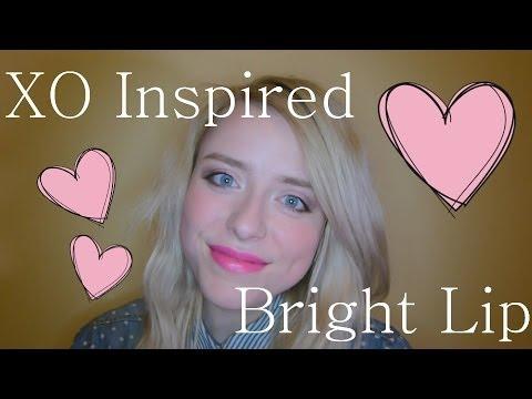 Beyonce XO Inspired Bright Lip | oksanaslife