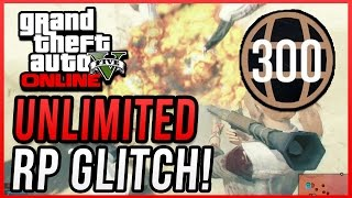 GTA 5 Online: Unlimited RP Glitch & Rank Up Fast After