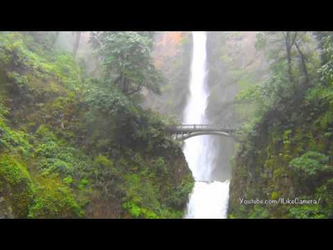 Waterfall multnomah falls tallest waterfall in oregon state