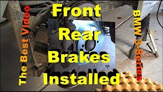 Front And Rear Brakes, Rotors And Wear Sensor Replacement