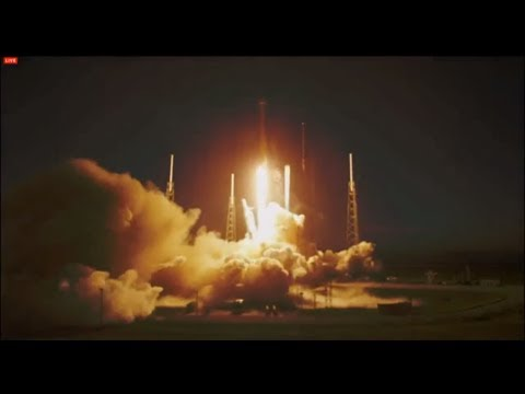 SpaceX makes third attempt at Falcon 9 rocket SES-8 communications satellite