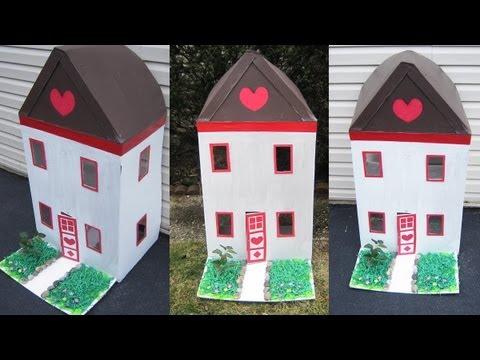 Como hacer una maqueta de una casa de carton imagui - Como hacer una casa de carton pequena ...