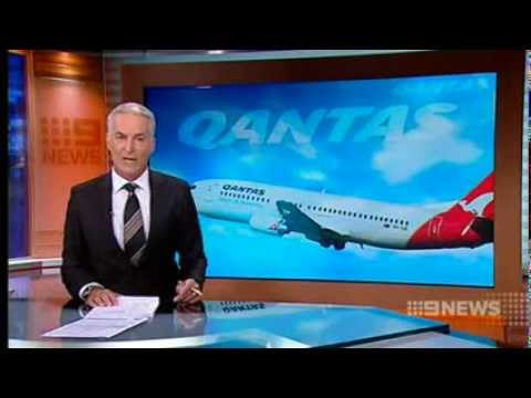 CH9: Union and Qantas Talks over 5000 Job Cuts
