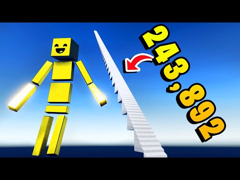 I Fell Down 243,892 Stairs From Space in Fun With Ragdolls