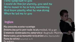Miley Cyrus, Adore You, Letra Español- Ingles