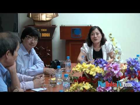 Đoàn nhà báo hải ngoại tiếp xúc với Đài Tiếng Nói Việt Nam VOV