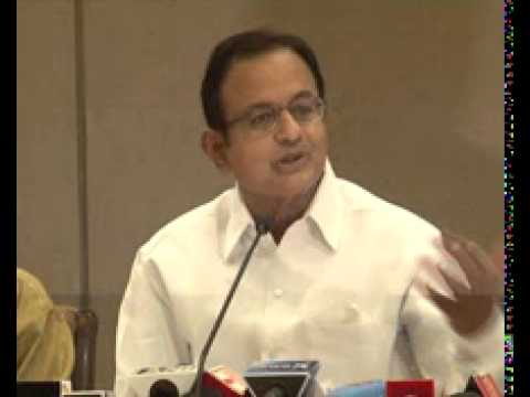 P Chidambaram for press Conference in Vadodara