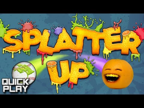 Quick Play - Annoying Orange Presents Splatter Up! (iOS, Android)