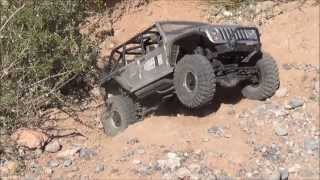 [Axial Wrangler Rubicon Calico Basin Las Vegas #11] Video