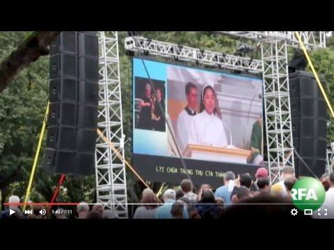 Thánh lễ bế mạc đại hội gia đình thế giới 2015