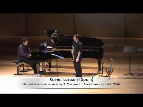 3rd JMLISC Xavier Larsson (Spain) L'Incandescence de la bruine by B. Mantovani