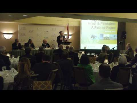 Israel & Palestine - A Path to Peace - March 6th, 2014
