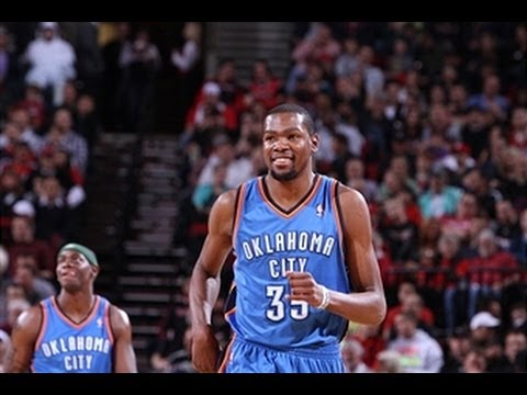 Kevin Durant's Top 10 Plays of 2012-2013 Regular Season