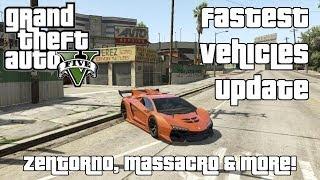 Zentorno, Massacro & More! The Fastest Vehicles In GTA V