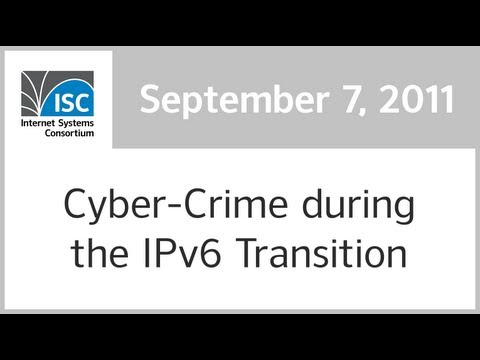 Cyber Crime during the IPv6 Transition