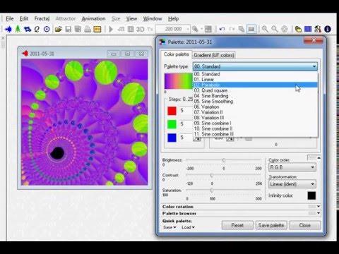 Как создать фрактал в Fractal Explorer - zebroid.tv