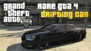 GTA 5 ONLINE : RARE VEHICLES SECRET GTA IV CAR (KARIN