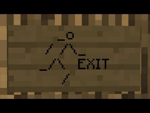 Emergency Exit Sign | Minecraft Tutorial - YouTube