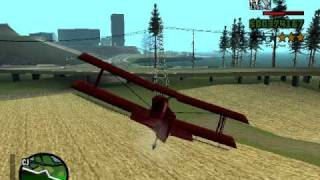 GTA San Andreas Crop Duster Location