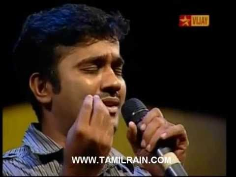 Airtel Super Singer 3 - 6th Level Auditions (Sep 09 2010) Old Songs - Krishna Sridharan