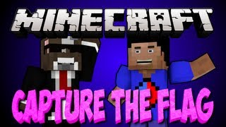 NEW Minecraft 1.6 CAPTURE THE FLAG Minigame Server