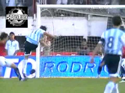 Argentina 2 vs Chile 0 Eliminatorias Mundial Sudafrica 2010 FUTBOL RETRO TV