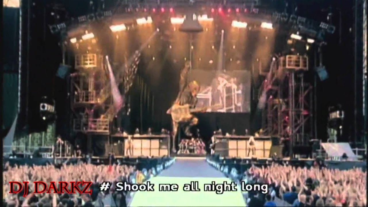 you shook me all night long my humps mashup Shook me all time long artista: you really got me and you shook me all night long mash-up videos ver post.