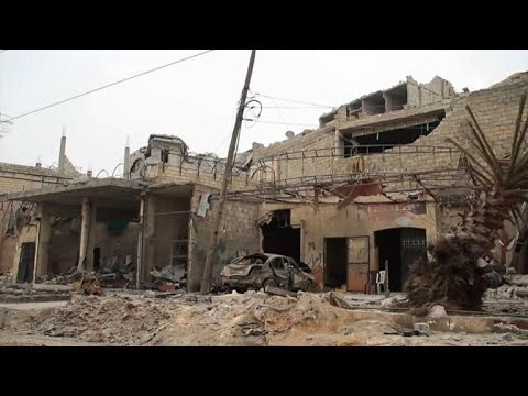 Syrians in war-wracked Aleppo react to Geneva II