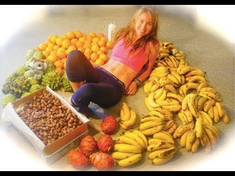 Sensual mujer se traga 50 bananas por dia ! :$