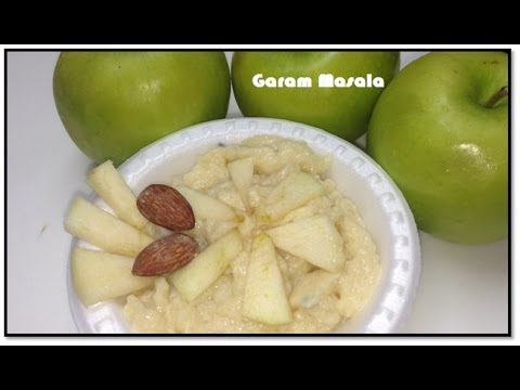 Apple pudding by Garam Masala