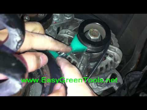 Smart Fortwo Belt Replacement Tutorial Easy Green
