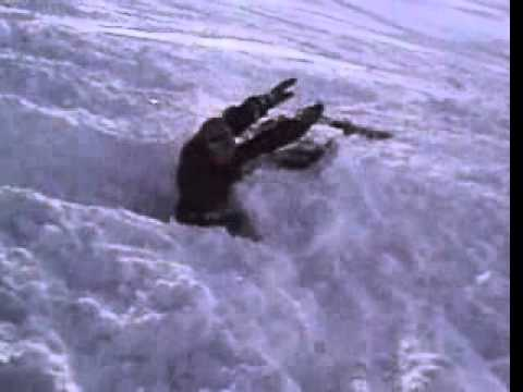 Michael Schumacher ski crash leaked amateur video