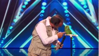 America's Got Talent 2014 Auditions The Birdman