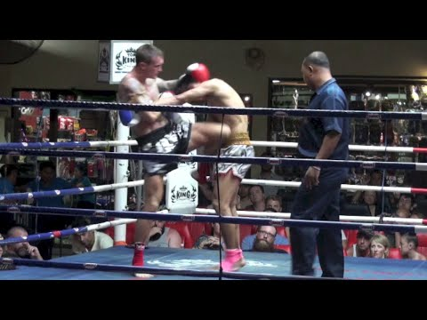 Kevin Foster (Tiger Muay Thai) vs Gaolakit (Chang Gym) @ Patong Boxing Stadium 7/7/2014