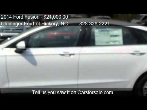 2014 Ford Fusion S - for sale in Hickory, NC 28602