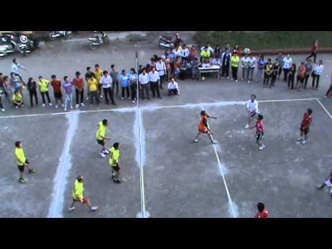 Chung kết nam CBCNV Giải bóng chuyền Đại học Sư phạm 2012