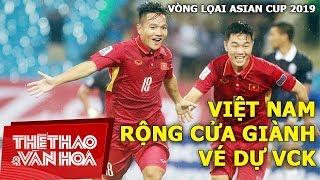 Đội tuyển Việt Nam rộng cửa vào VCK Asian Cup 2019