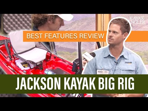 Jackson Kayak Big Rig unveiled at iCast 2013!