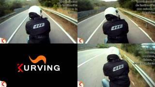 Movimientos de inclinación en moto
