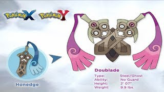 Pokemon X And Y New Pokemon Revealed: Doublade, The