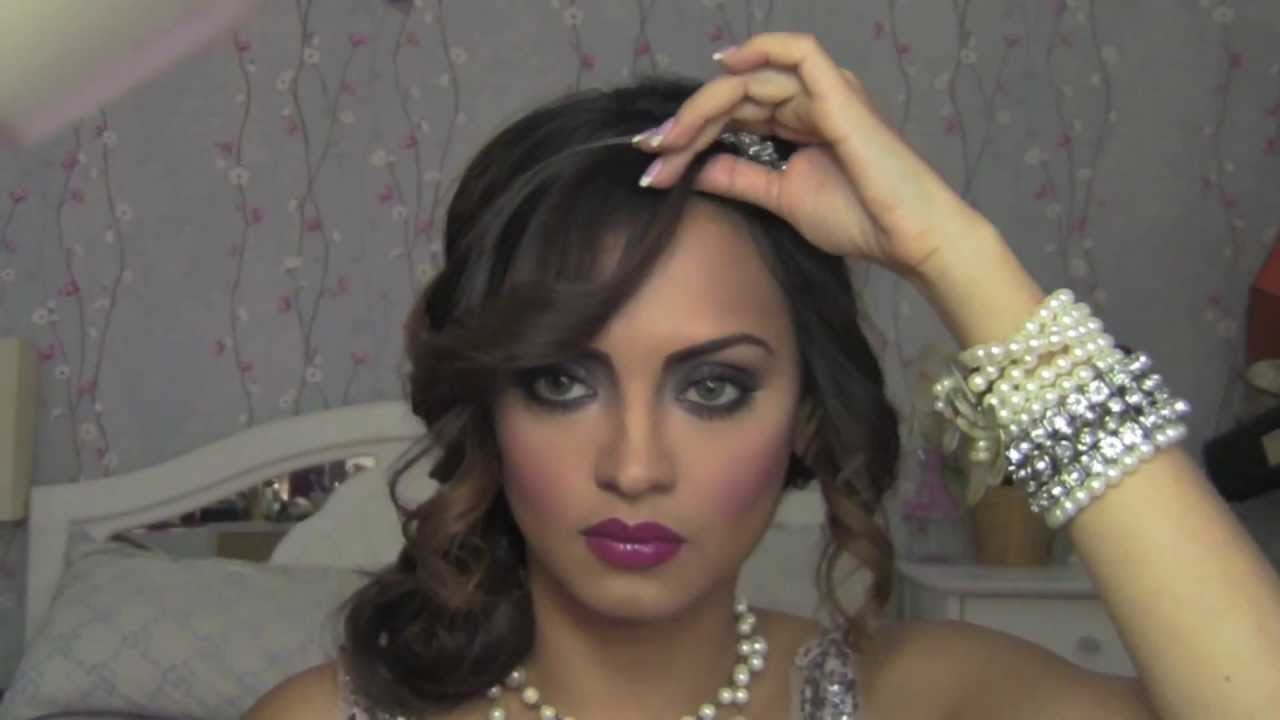 The Great Gatsby inspired 1920's Flapper Girl hair- Part 2 - YouTube