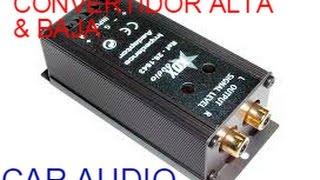 Como Conectar Nuestro Equipo De Sonido A Un Estéreo De