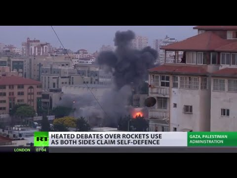 Israel-Gaza conflict: No truce, both cite self-defense