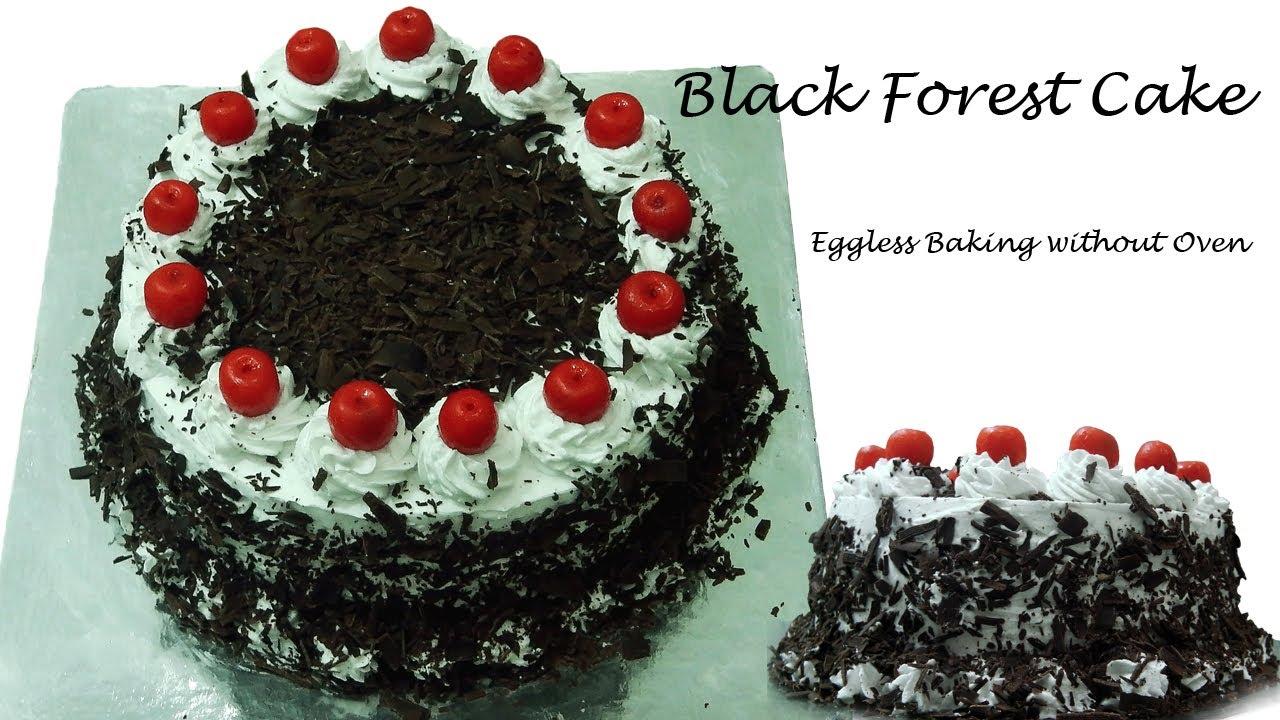 Eggless Birthday Cake Recipe In Cooker