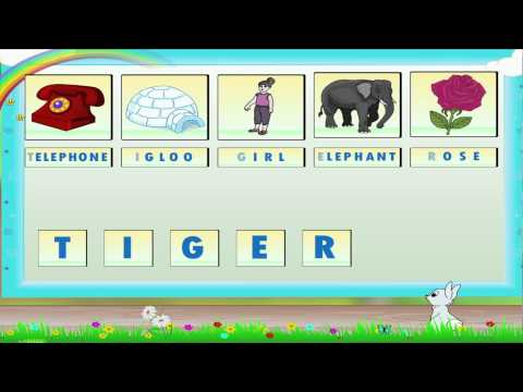 Std 1- English Grammar- Letters And Words