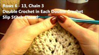 Crochet How To: An Easy Beanie Or Beret Hat