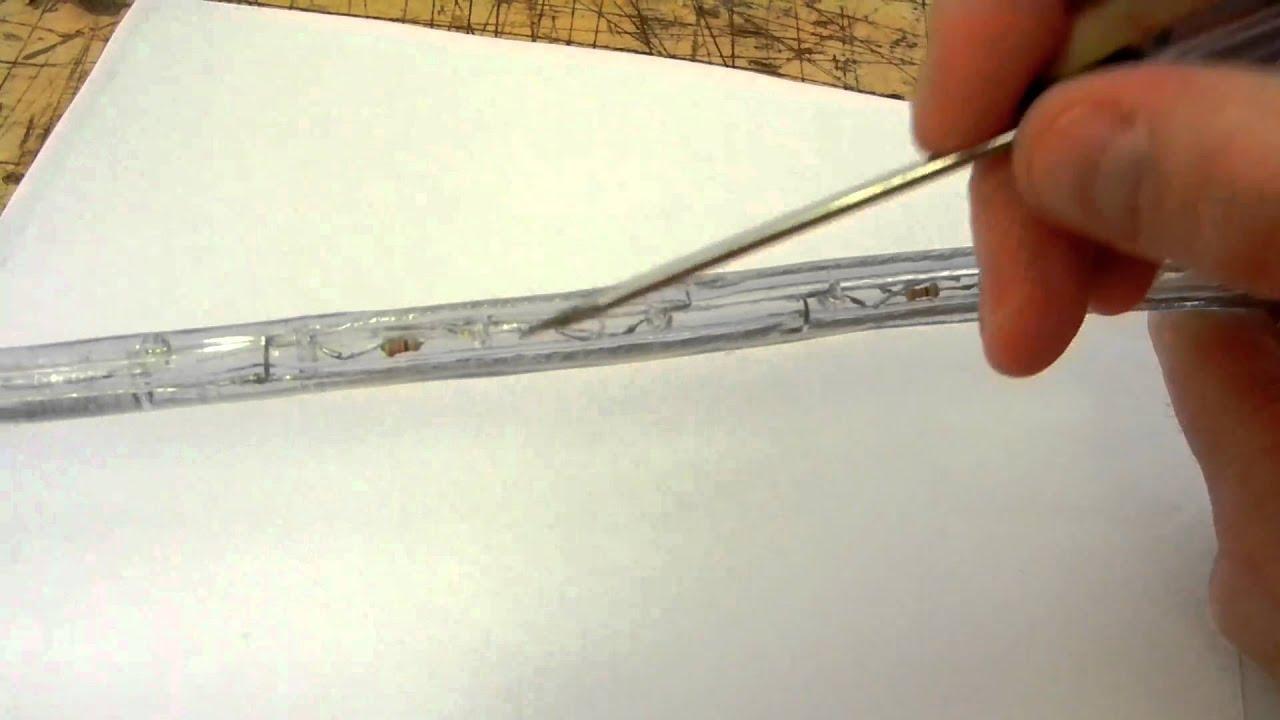 Cutting Led Rope Lights
