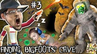FINDING BIG FOOTS CAVE w/ SLEEPY CHASE Prank! FGTEEV #3 - FREE ROBLOX ROBUX TRAP! HAHA